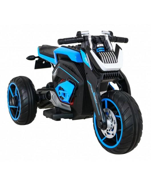 Elektrická motorka Future modrá